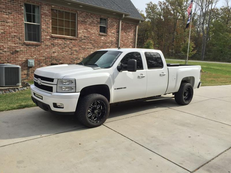 White Truck Black Wheels Pics Please Page 6 Chevy And
