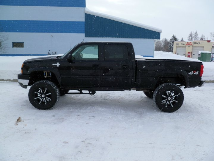 2006 Chevy Duramax Lifted