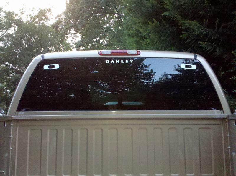 oakley car stickers