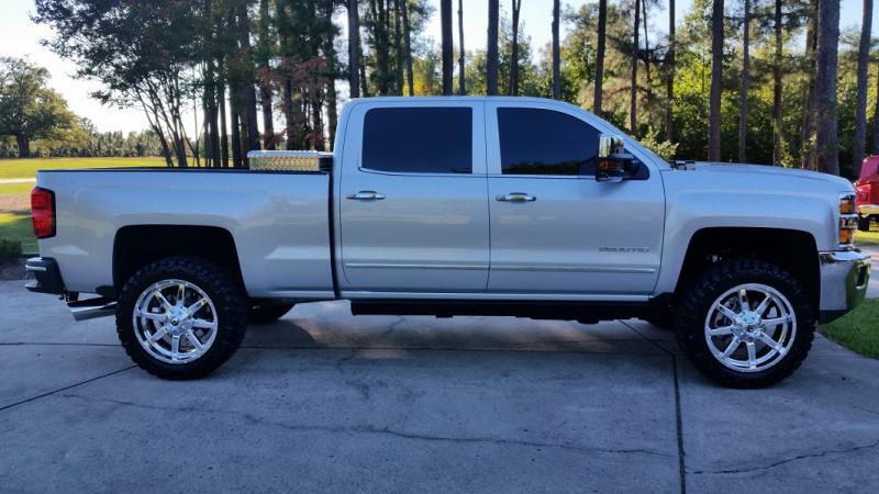 2015 Silverado Ltz New Wheels Chevy And Gmc Duramax