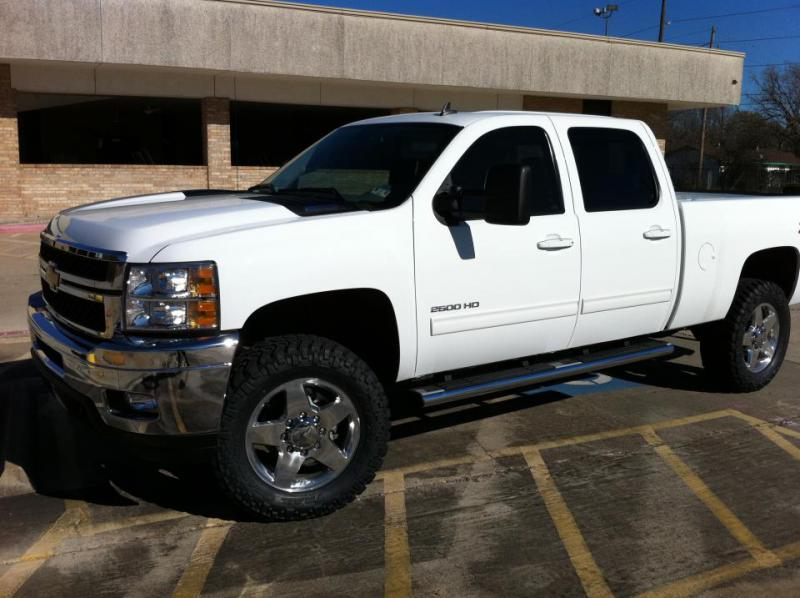 2011 GMC Sierra 2500HD tire options - Page 3 - Chevy and ...