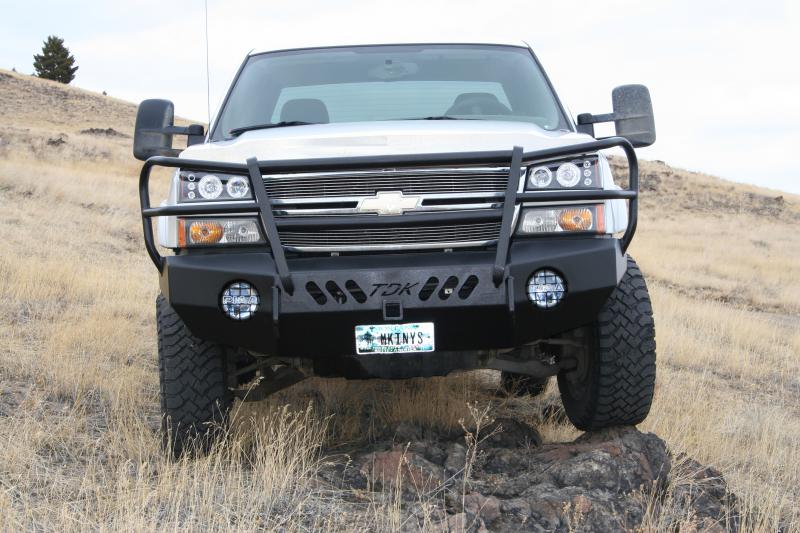 Chevy Colorado Brush Guard Bumpers and Brush Guards Let's See'em! - Chevy and GMC Duramax Diesel ...