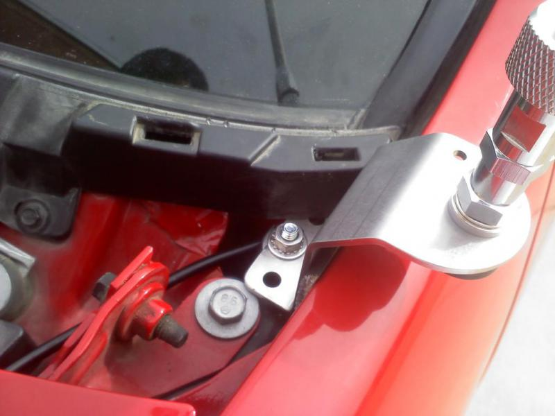 Cb Antenna Mounting Locations Post Your Pics Chevy And