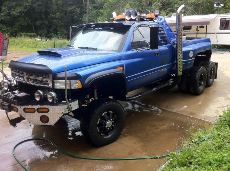 Stupid Stacks Pics Page 49 Chevy And Gmc Duramax Diesel Forum