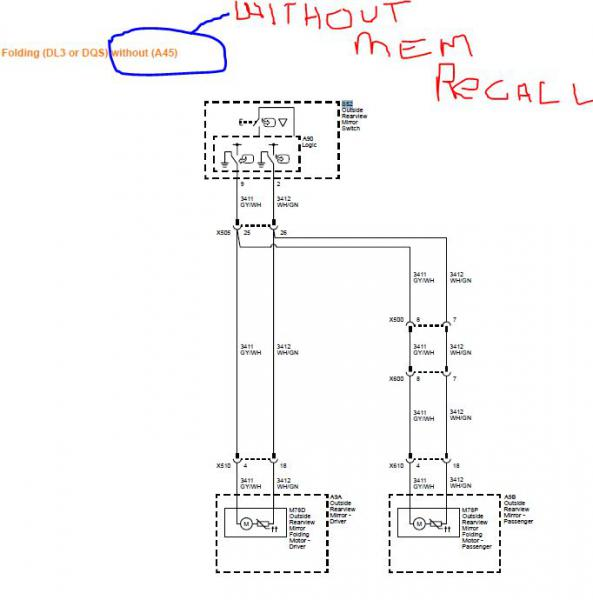 Wiring Ford Mirrors - Wiring Diagrams List on