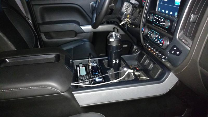2015+ LTZ Console CB Location - Chevy and GMC Duramax ...