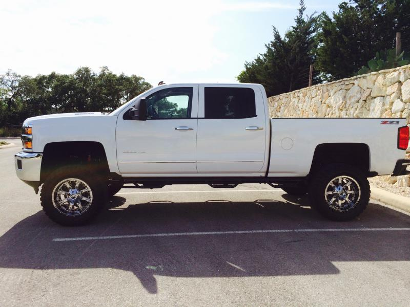 4 Inch Lift For 2015 2500hd Pics Review Anyone Page 3