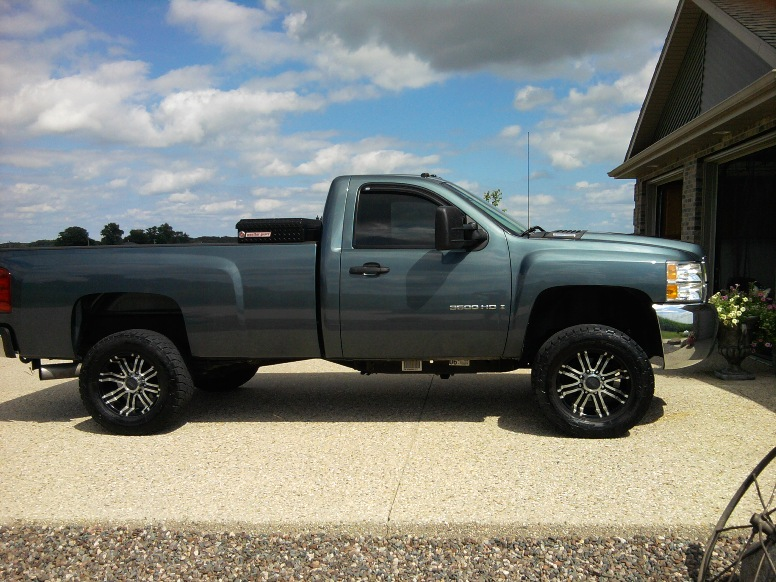 Anyone with lifted regular cabs  Chevy and GMC Duramax Diesel Forum
