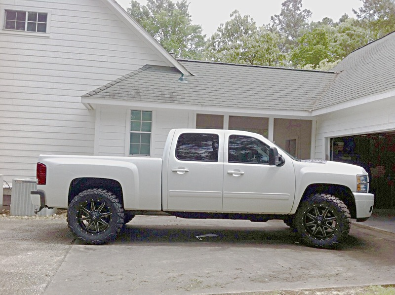 2008 Lmm Tires Stock Height Chevy And Gmc Duramax Diesel