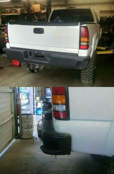 2015 Rear Bumper On Classic Body Style Chevy And Gmc