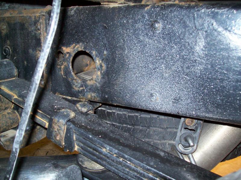 Battling frame rust!!! W/pics - Chevy and GMC Duramax Diesel Forum