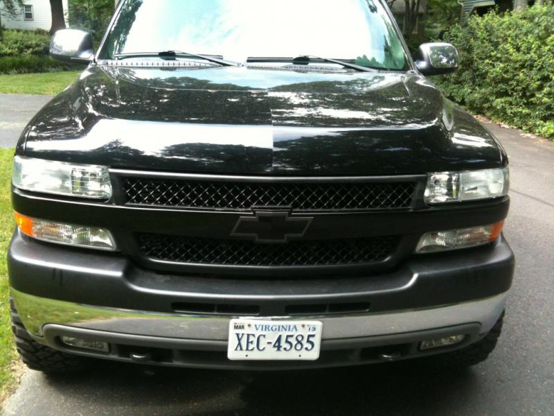 Painted My Grill Let Me Know What You Think Chevy And Gmc Duramax Diesel Forum