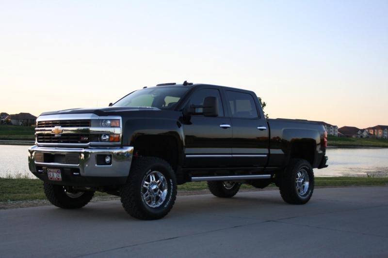 4 Inch Lift For 2015 2500hd Pics Review Anyone Chevy And Gmc