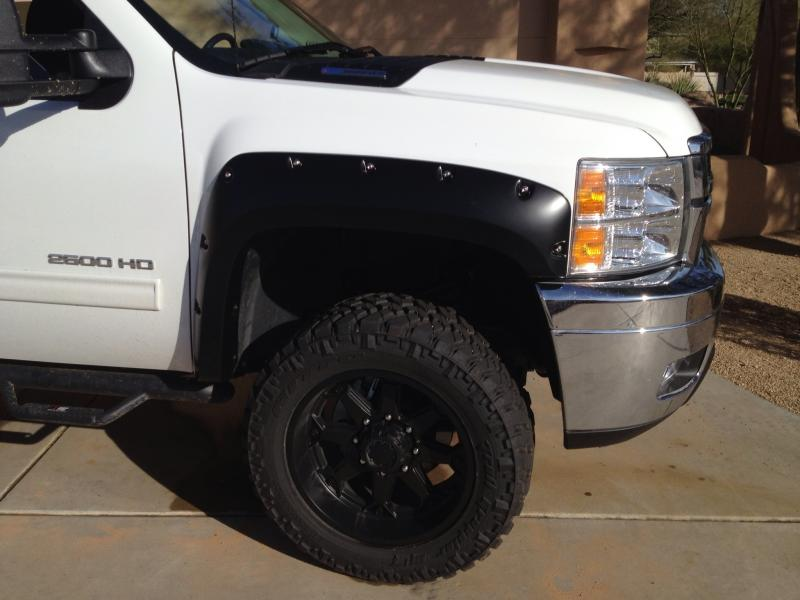 Chevy Bushwacker Fender Flares