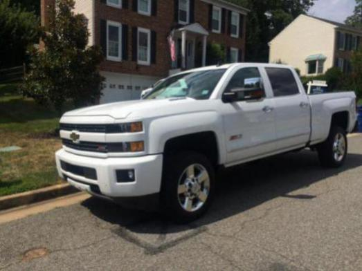 Color matched '16 - debadged - Chevy and GMC Duramax Diesel