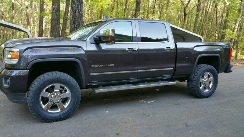 2015 Denali leveled with 37s - Chevy and GMC Duramax ...