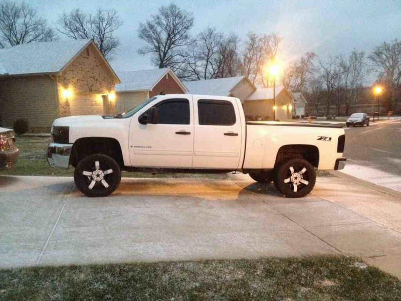 D White Trucks Black Chrome Wheels Post Em Up Imageuploadedbyag Free on Duramax Pcv Valve Location