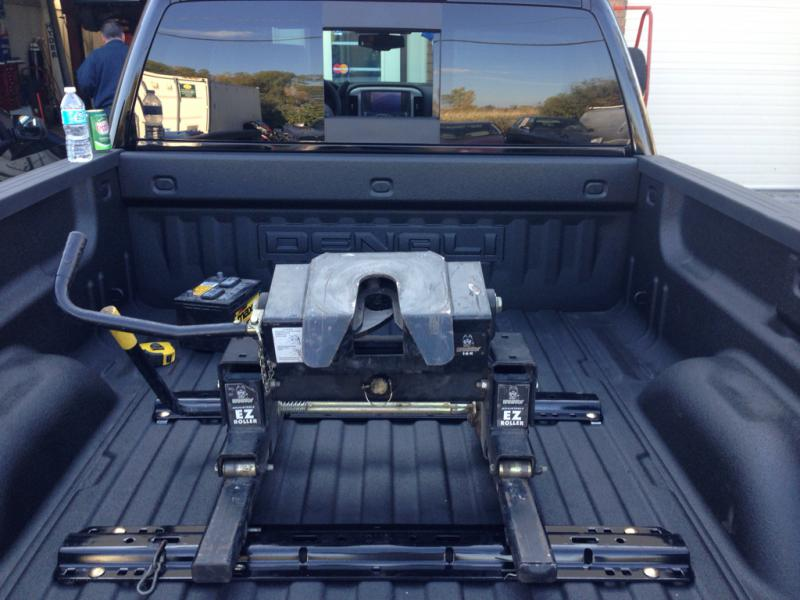 Fifth Wheel To Gooseneck Hitch >> 2015 Camper Wire provision / Fifth wheel install - Chevy and GMC Duramax Diesel Forum