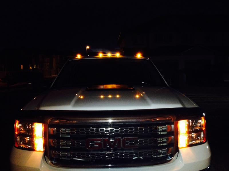 Roof Marker Lights Page 7 Chevy And Gmc Duramax Diesel