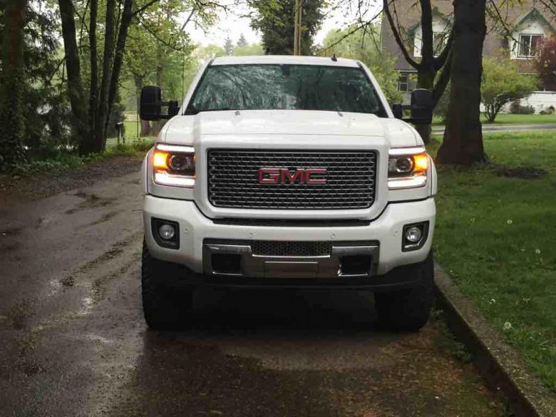 Had the Denali grill chrome pealed off and painted to ...