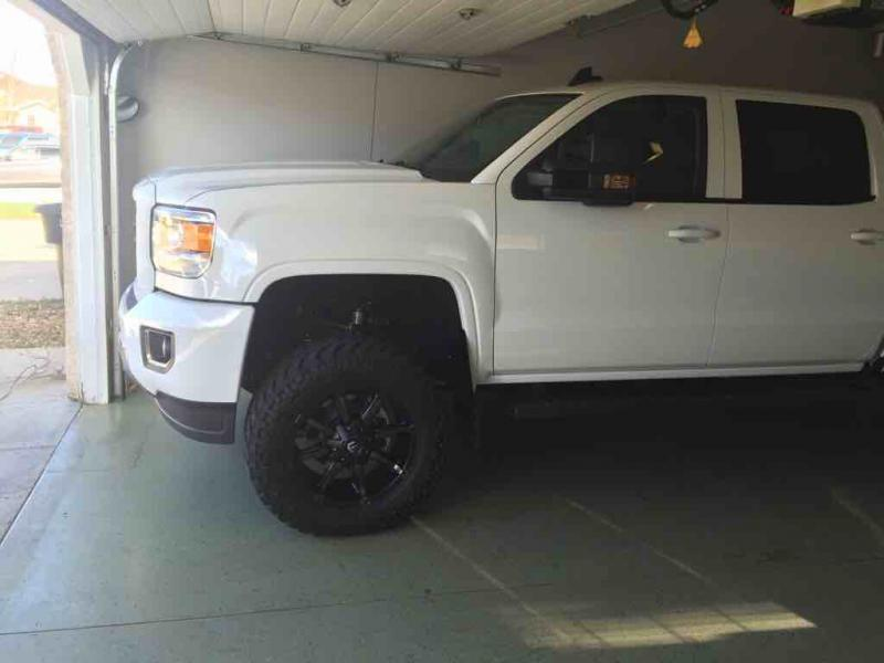 "4.5"" BDS lift on 15 GMC 2500 - Page 2 - Chevy and GMC ..."