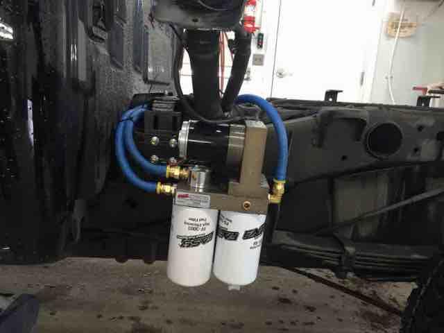 Fass lift pump install - Chevy and GMC Duramax Diesel Forum