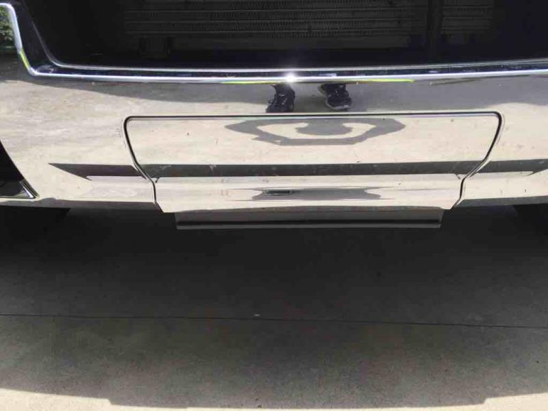 Duramax Diesel Forum >> Front License Bracket Filler - Chevy and GMC Duramax ...