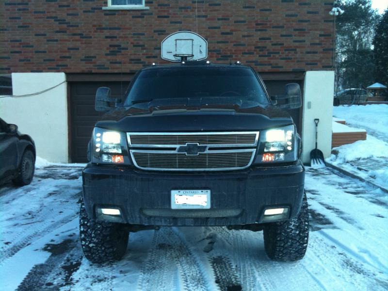 Spyder Headlight Conversion Chevy And Gmc Duramax Diesel