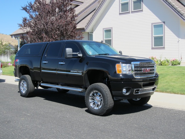 Lifted GMC Denali