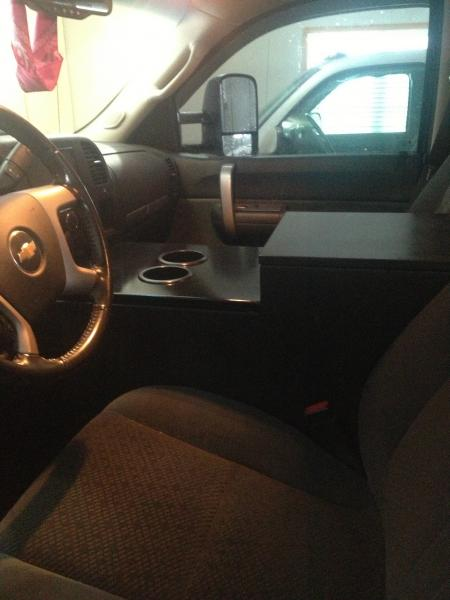 Sub Box Center Console Finally Finished Chevy And Gmc