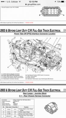 Transmission Transfer Case Wiring Harness Chevy And Gmc Duramax Diesel Forum