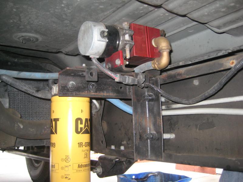 My lift pump/Filter setup - Chevy and GMC Duramax Diesel Forum