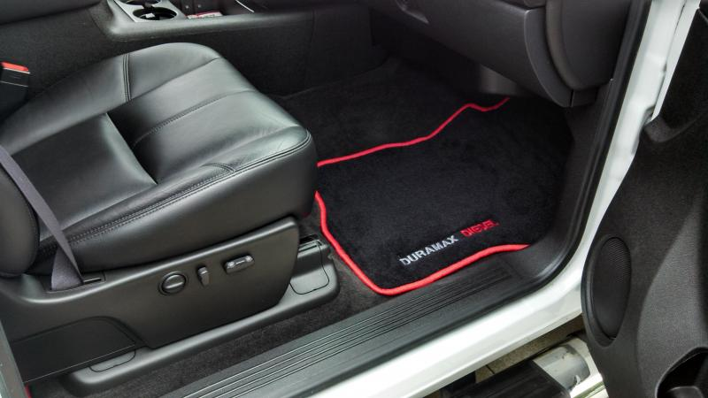 Blue Chevy Floor Mats