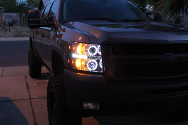 D Spyder Halo Headlight Install Img on Duramax Diesel Forum