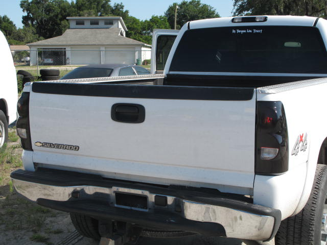 2006 Chevy Silverado Tail Lights >> tinted tail lights - Page 8 - Chevy and GMC Duramax Diesel Forum
