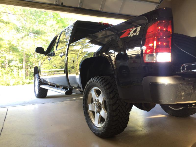 2014 denali just installed 33 quot toyo mt s chevy and gmc duramax