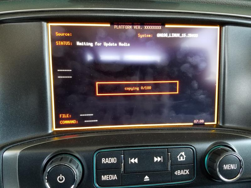 Possible Cause Of 2016 Infotainment Screen Going Black Chevy And