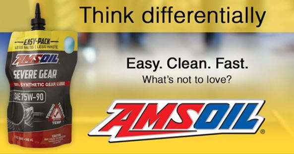 Amsoil Severe Gear 75w 90 >> Amsoil Severe Gear 75w 90 Gear Lube Easy Fast Clean Chevy And