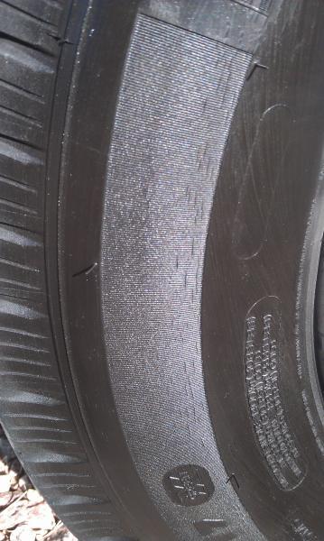 michelin tire sidewall cracking warranty inegload