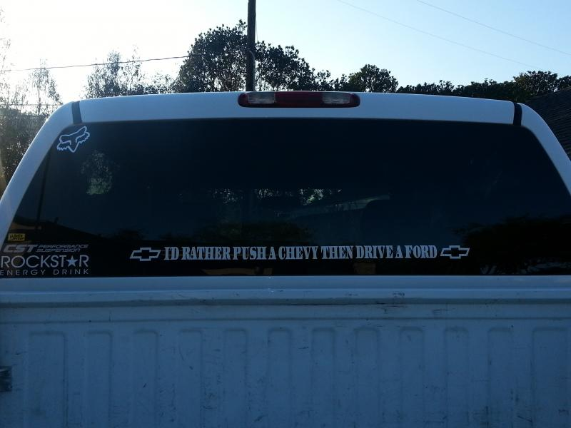 Rear Window Sticker Pics Lets See Page 26 Chevy And