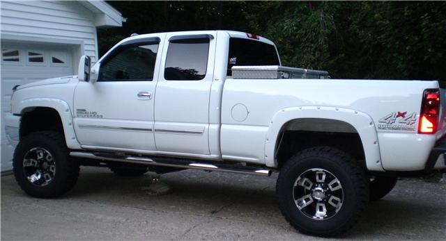 White Truck Black Wheels Pics Please Page 2 Chevy And