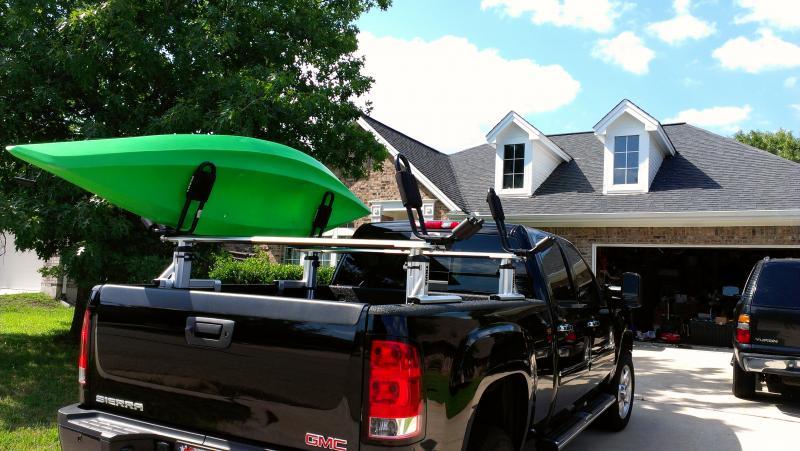 Xsporter and new kayak racks - Chevy and GMC Duramax ...
