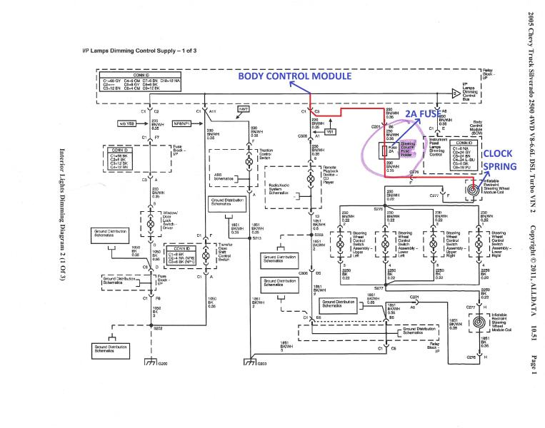 wiring schematic on a 2006 silverado ddm switch schematic