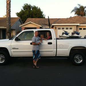The Happy Day were I traded in my Powerstroke for my Duramax.