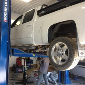 Getting Leveling kit and Urea/DPF delete and exhaust