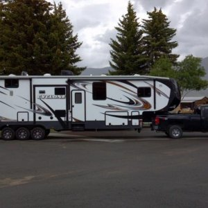 Picking Up The New 2014 Heartland Cyclone 4114 Toy Hauler...