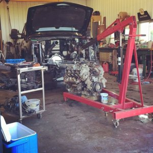 early summer 2015 engine rebuild