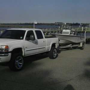 my truck and work boat