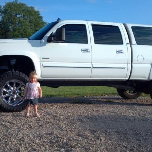 My daughters truck she says