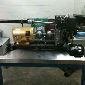 Capstone- Diesel Engine Test Lab